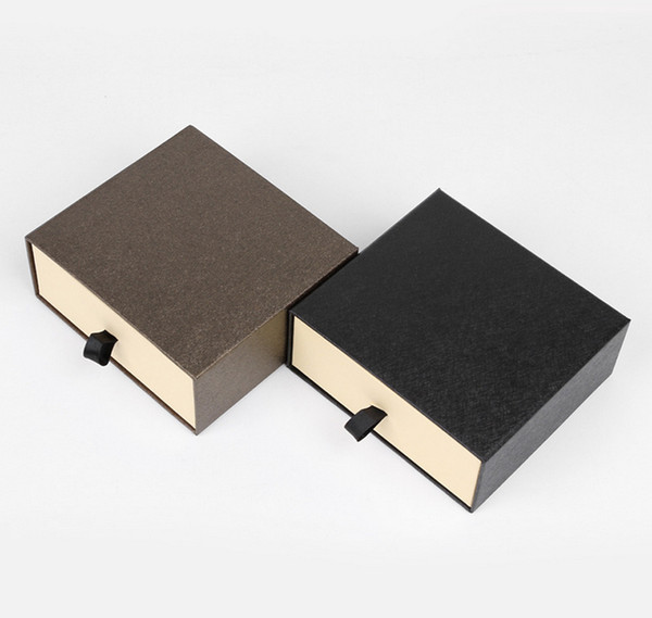 Farbe Schwarz-Wei/ß Estellani/® Krawattenbox//G/ürtelbox Acryl gl/änzend Krawattenaufbewahrung G/ürtelaufbewahrung