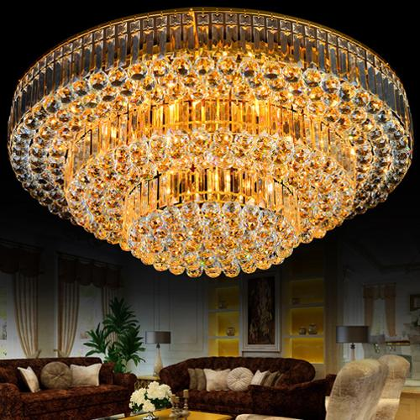 luxury k9 crystal pendant lighting led