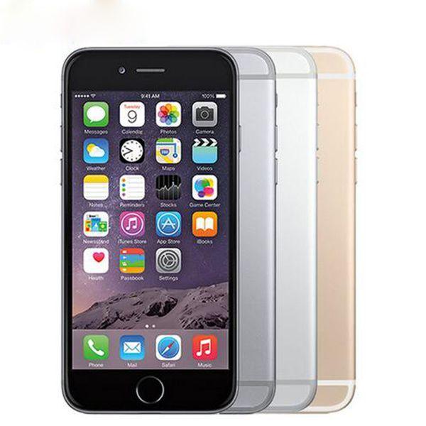 unlocked original iphone 6 plus 16gb 64gb 128gb 5.5 screen ios 3g wcdma 4g lte 8mp camera mobile phone used