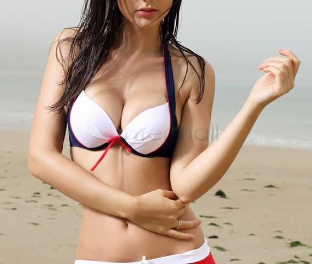Hot Striped Bikini Womens Swimmer Set Girl Swimwears Sexy Bikini Swimsuit Set Padded Lady Bathing Suit Blue 50 Online With 22 7 Piece On Wangleme0s