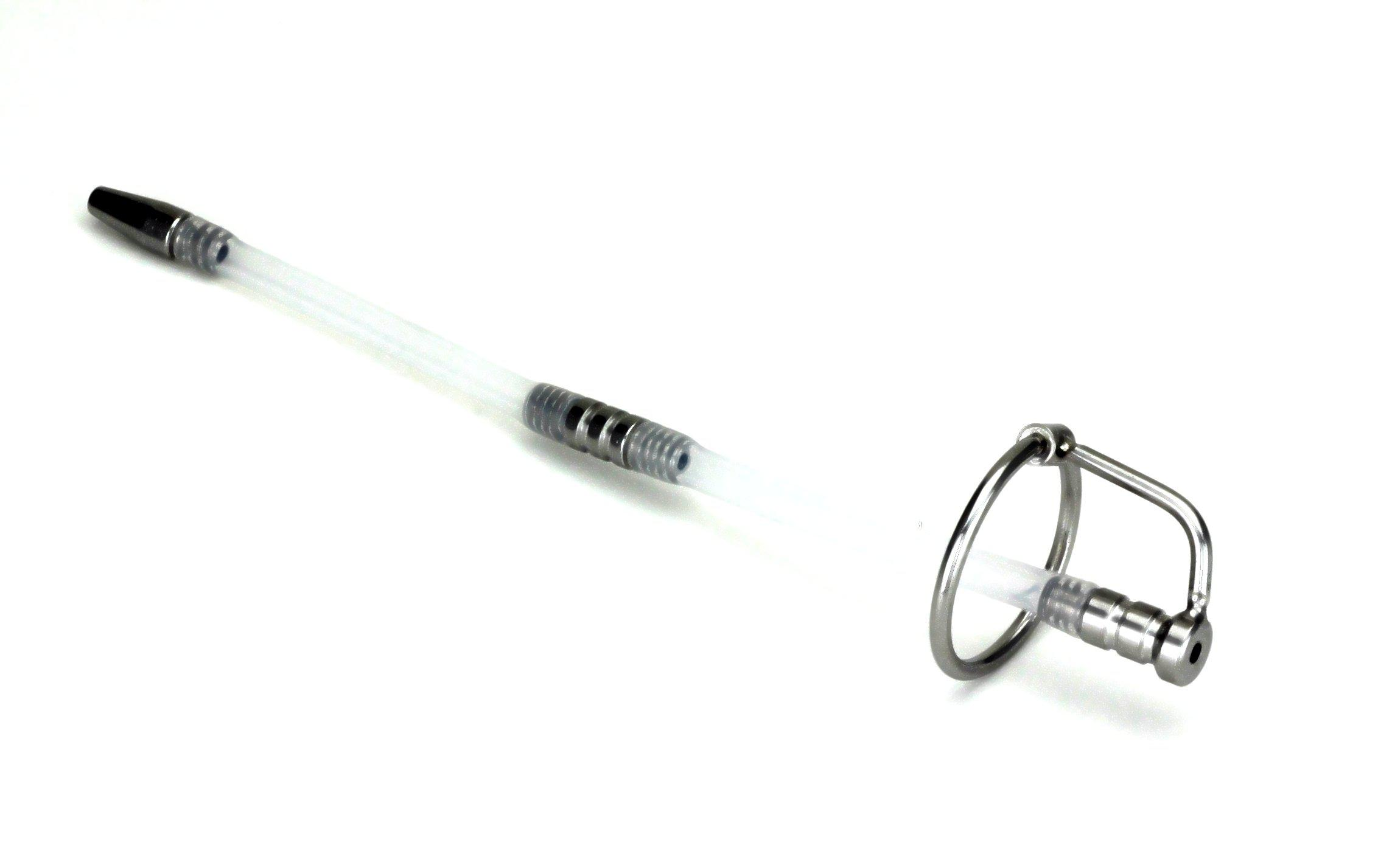 New Stainless Steel Sounding Male Urethral Stretching