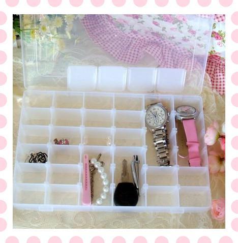 DIY 36 Slot Jewellery Storage Box Travel Watch Earring