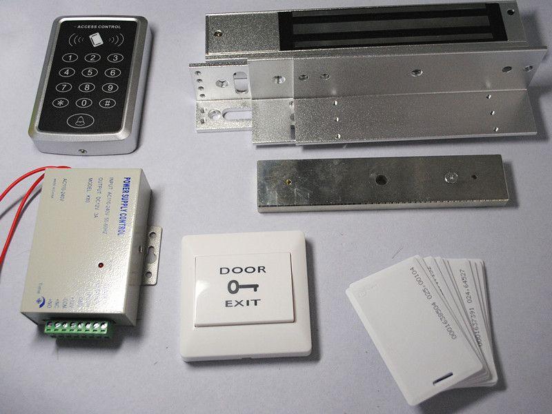125khz Rfid Door Lock Access Control System + EM4100 Thick ...