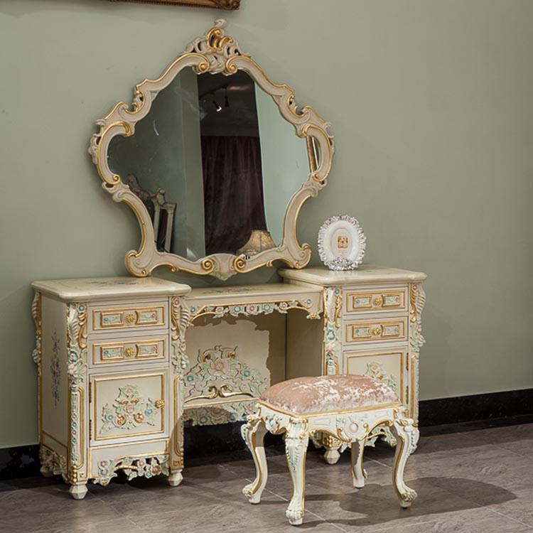 2017 Classic French Style FurnitureHandwork Gilding