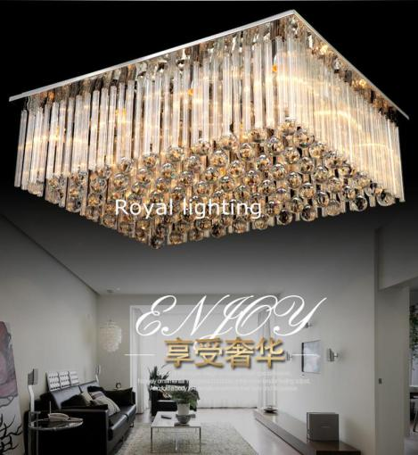 Large Crystal Ceiling Lamps Modern Luxury Luminaria Hanging Light     Large Crystal Ceiling Lamps Modern Luxury Luminaria Hanging Light Art Deco  Livingroom LUZ Hotel Villa Bedroom Suspension Ceiling Lights Ceiling Lamp