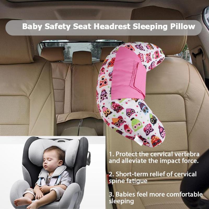 travel pillow kids car seat belt pillow