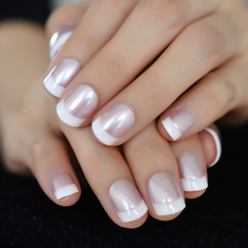 Wholesale Glitter French Tips Nail Designs Buy Cheap In Bulk