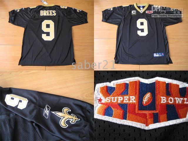 Bowl Super Brees Drew Jersey