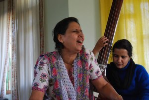 With Vidushi Arti Ankalikar ji