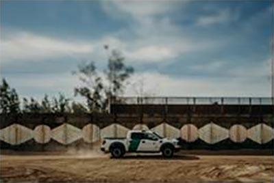 El Centro Sector border before construction of steel bollard wall