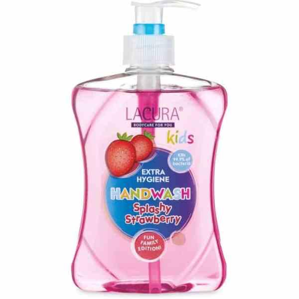 Lacura-handzeep-splashy-strawberry-extra-hygiene-antibacterieel-min