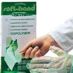 Wegwerphandschoenen groen 100 stuks