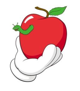 original-fake-rotten-apple