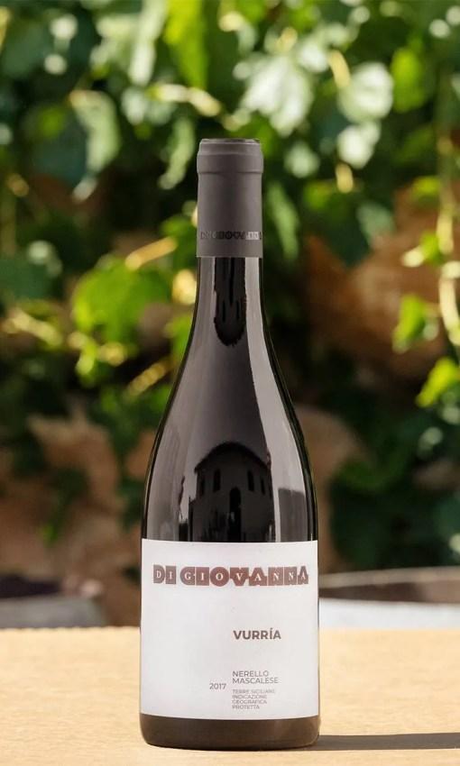 Il Nerello Mascalese Vurria Di Giovanna è un vino rosso siciliano.