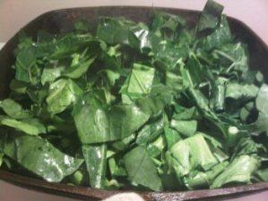 Chopped Collard Greens