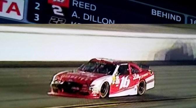 NEWSBREAK: RYAN REED WINS IN DAYTONA…..Diabetes at 187 mph!!!!!