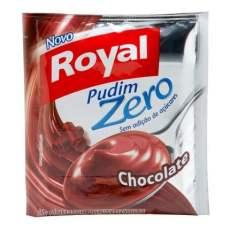 receita royal pudim chocolate zero diabetes