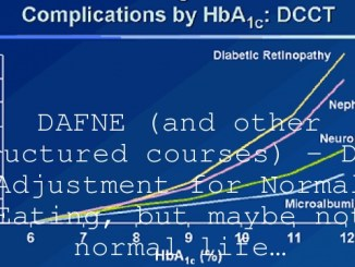 DAFNE (and other Structured courses) – Dose Adjustment for Normal Eating, but maybe not normal life…