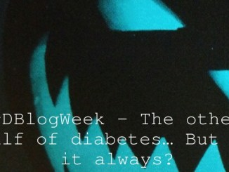 #DBlogWeek – The other half of diabetes… But is it always?