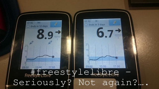 #freestylelibre – Seriously? Not again?….