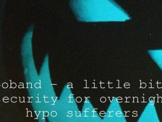 Hypoband – a little bit of security for overnight hypo sufferers