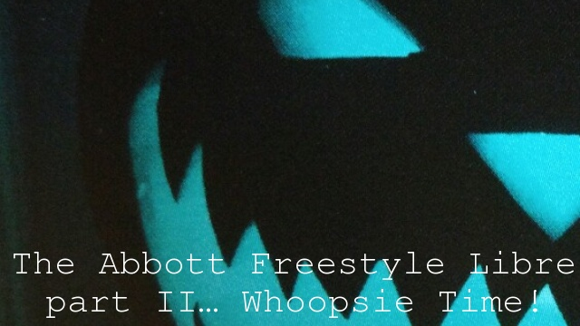 The Abbott Freestyle Libre part II… Whoopsie Time!