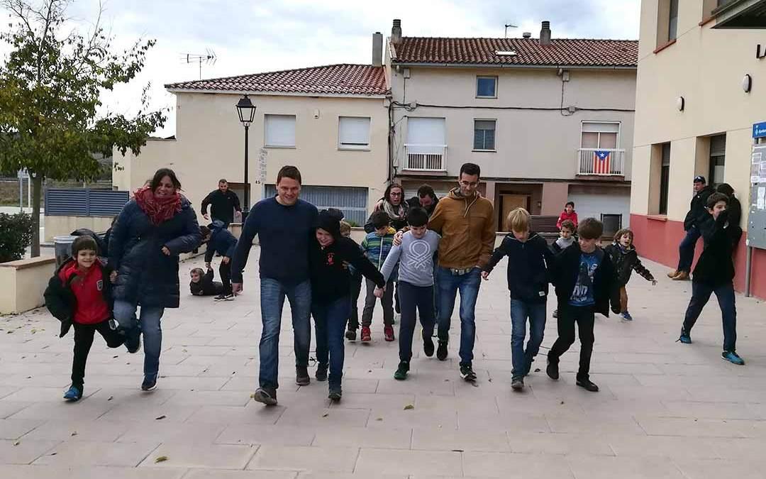 Els Diables petits de Moja tanquen el 2018 amb la festa de les famílies