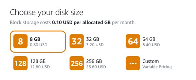 Storage Fee