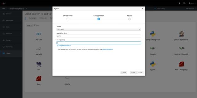 Uygulama Konfigurasyon Ekranı