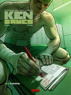 Portada del primer número de Ken Games
