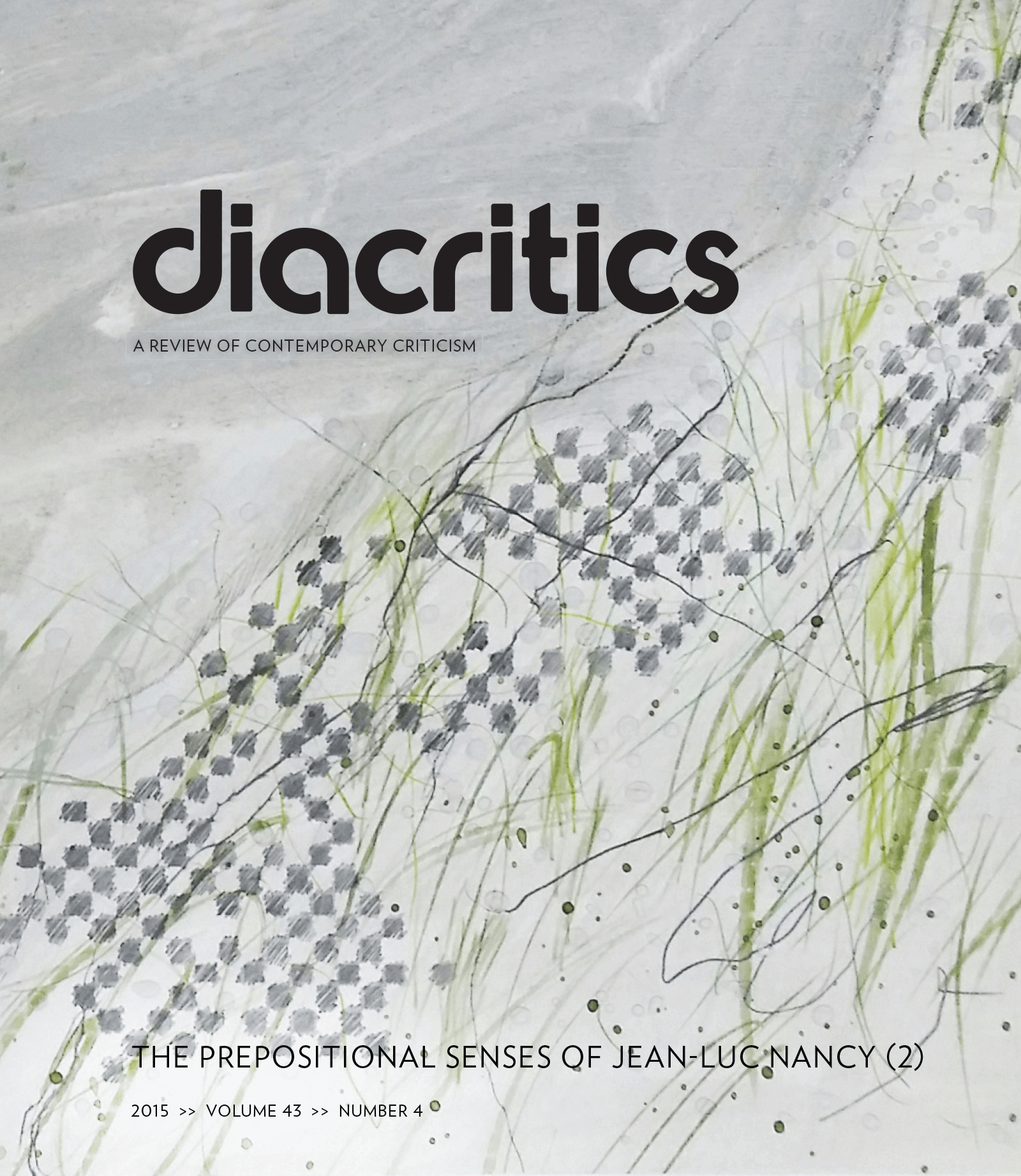 DIACRITICS VOLUME 43 NUMBER 4 2015