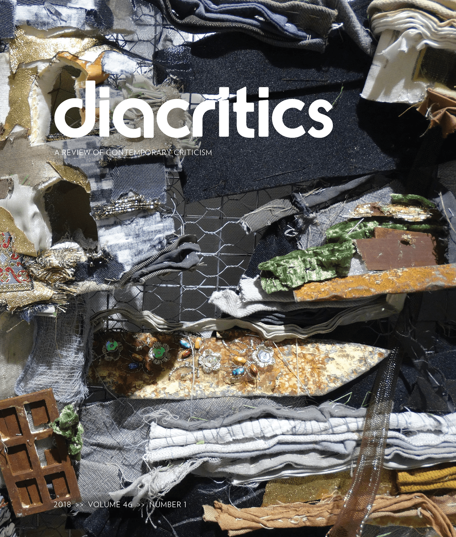 DIACRITICS VOLUME 46 NUMBER 1 2018
