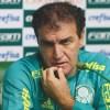 """Cuca: """"vai ver a gente ganhou por causa desse negócio"""". Foto: Cesar Greco/Agência Palmeiras"""