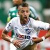 Nico López comemora gol contra o Palmeiras: atacante pertence à Udinese-ITA. Foto: Arquivo