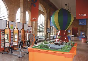 Museu Catavento - Garotada aprende física com experimentos interativos