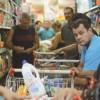 Insegurança levou capixabas a fazerem fila nos supermercados para conseguir comida. Foto: Tânia Rego/Agência Brasil