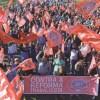 Lideranças sindicais afirmaram que luta contra a reforma continua. Foto: Adonis Guerra/SMABC
