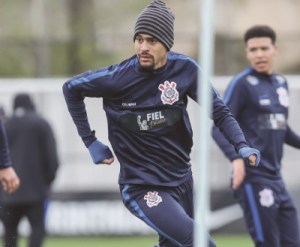 Léo Santos fará sua segunda partida como titular. Foto: Rodrigo Gazzanel/Futura Press/Folhapress
