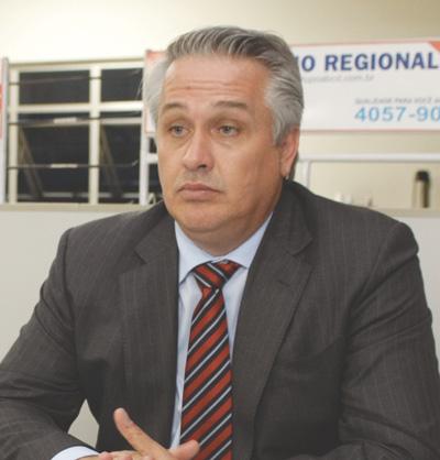 """Marcos Michels: """"pode haver um desgaste político, mas é devido ao momento"""". Foto: Arquivo"""