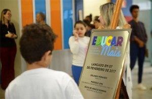 São Bernardo inicia atividades do Programa Educar Mais em sua 18ª escola