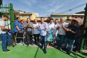Em São Bernardo, programa Praça-Parque chega ao Jardim do Mar