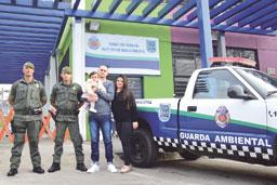 Sede da Guarda Ambiental de Diadema completa um mês
