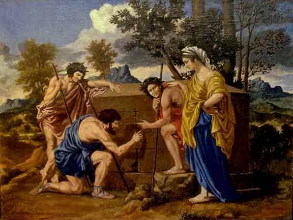 Et in Arcadia ego - Nicolas Poussin