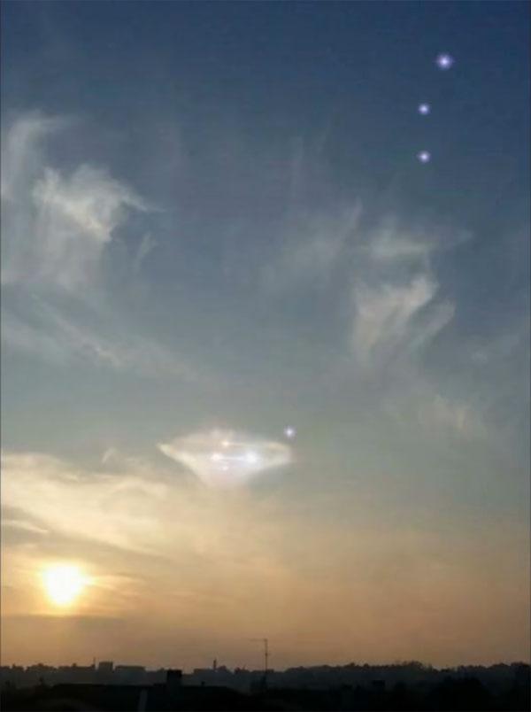 """Εμφανίστηκε Μητρικό """"Πλειάδειο UFO"""" πάνω από την Ιταλία; (video)"""