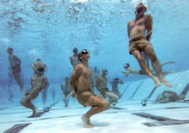 It is speculated that it's 90 per cent mental preparedness to be a successful Navy Seal.