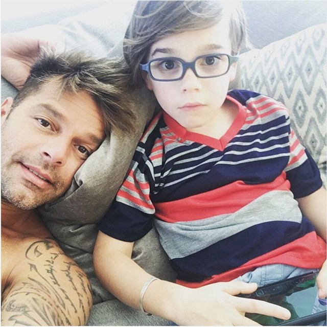 Image result for ricky martin sons