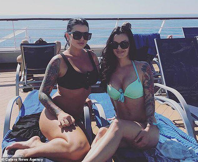 Strong friendship: Both Mrs Lehman says their friendship initially suffered when she started dating her husband, but that they now all holiday together