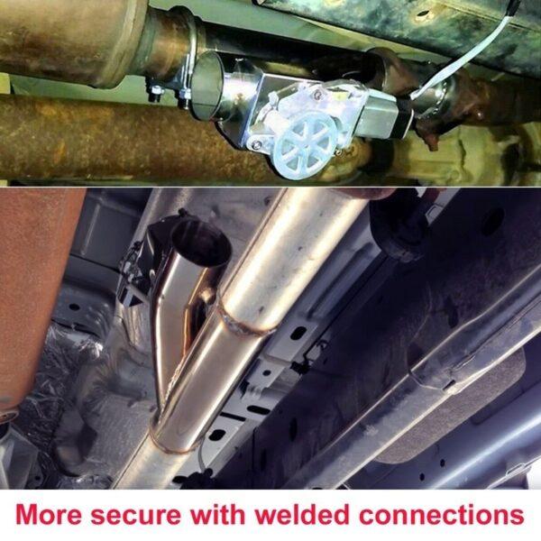 stainless steel headers y pipe electric