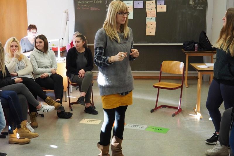 Schüler Stark Machen Gegen Mobbing