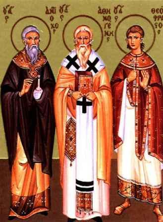 Αποτέλεσμα εικόνας για Άγιος Αθηνογένης επίσκοπος Πηδαχθόης και οι Δέκα Μαθητές του